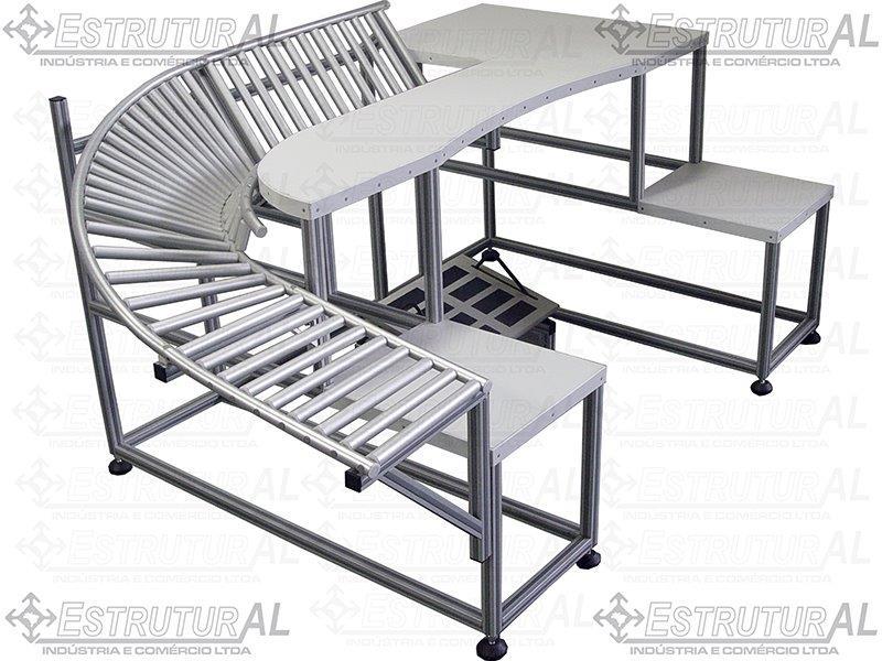 Esteiras transportadoras alumínio