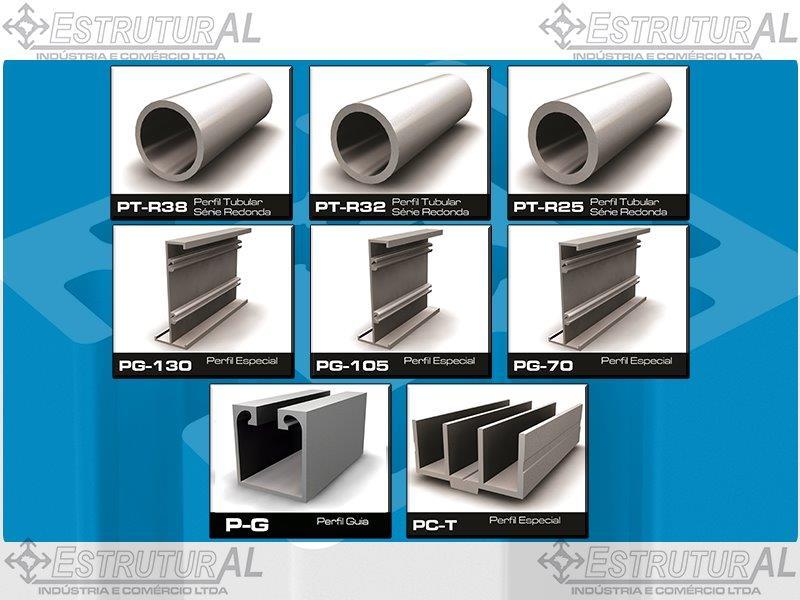 Fabricante de perfis de alumínio estrutural