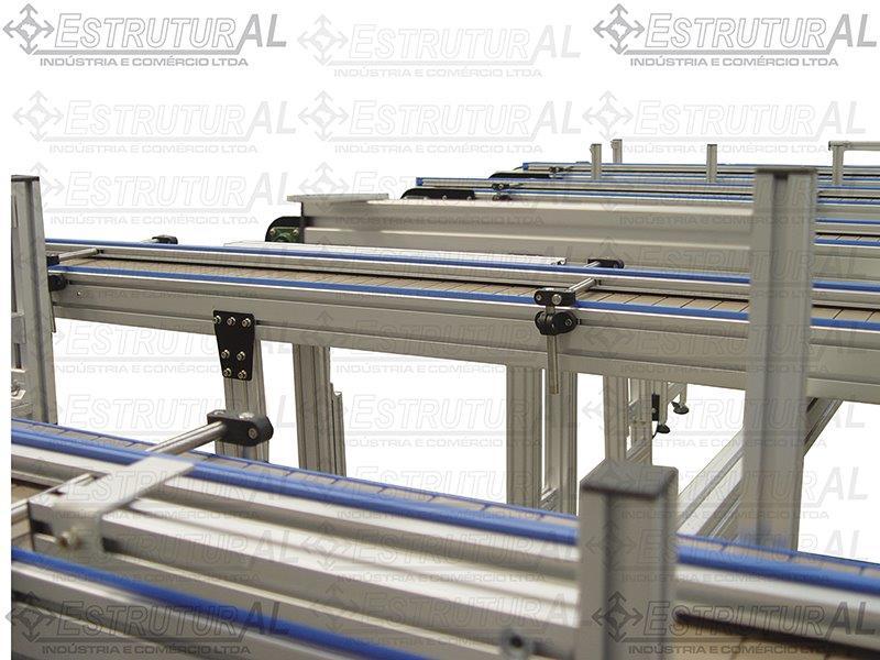 Soluções perfil de alumínio estrutural