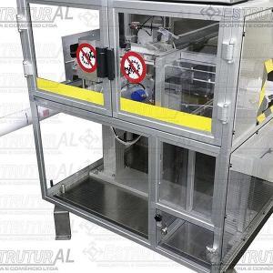 Proteção de máquina em policarbonato